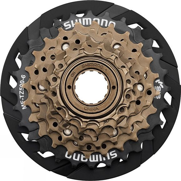 Shimano MF-TZ500 7-speed Multiple Freewheel 14-34 Black