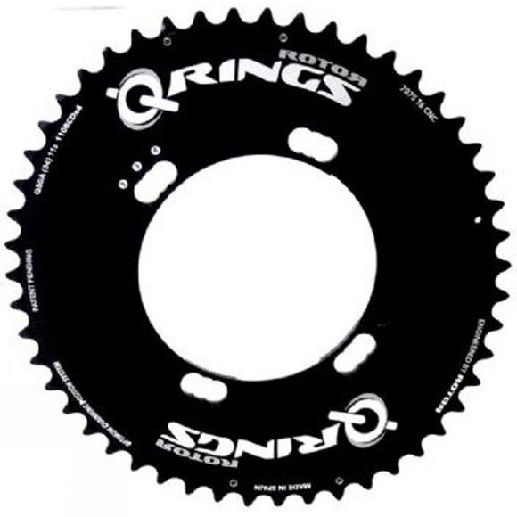 Rotor Q-Ring 50 Tooth 110x4 bolt Shimano Outer Chainring Black