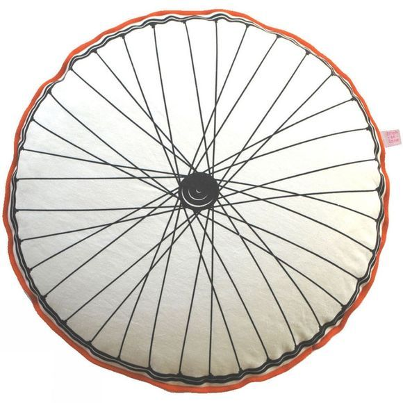 Stitch-Mi-Lane Bike Wheel Cushion Blue/Orange